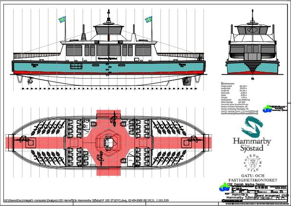 Design no. 105 Havnebus
