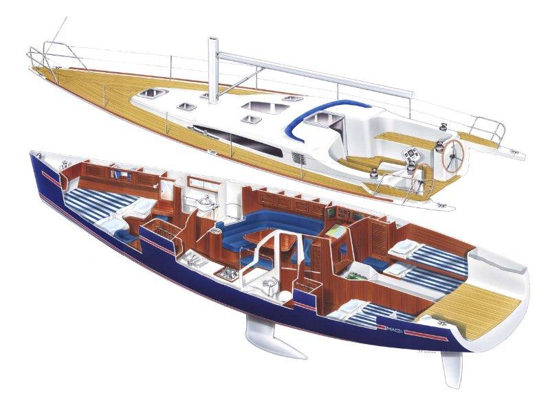 Design no. 199 MAXI 1300