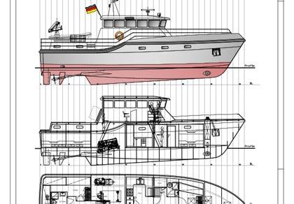 Design no. 133 – Training Vessel