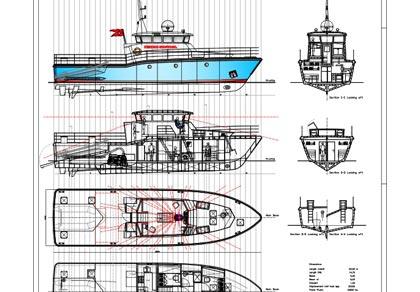 Design no. 116 – Inspection Vessel